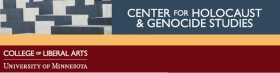 center-for-holocaust-and-genocide-studies-logo