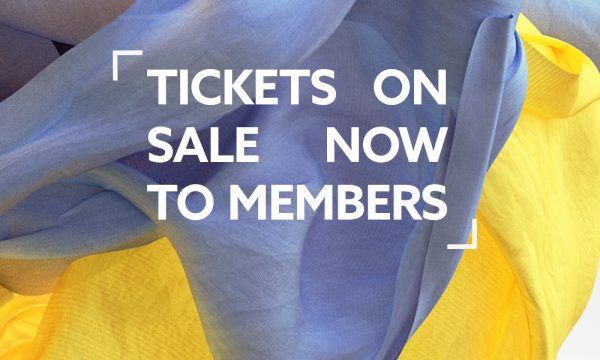 Member Tickets on sale Now